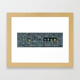 Intergalactic Cafe Framed Art Print