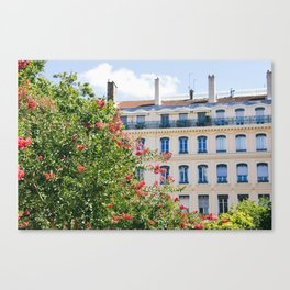 Lyon Streetscape Canvas Print