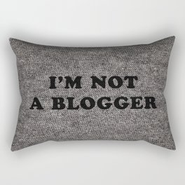 Blogger Rectangular Pillow