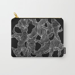 Inverted Reticulate Carry-All Pouch