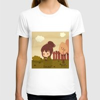 jane austen T-shirts featuring Jane Austen - Lizzy Bennet by Vale Bathory