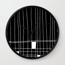 Mr. Mondrian Wall Clock