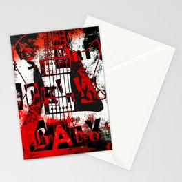 it's only rock n roll Baby Stationery Cards