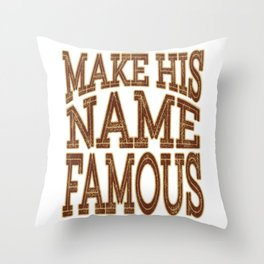 Looking for glamorous tee design? Grab this glittery tee now! Awesome and unique tee design for you! Throw Pillow