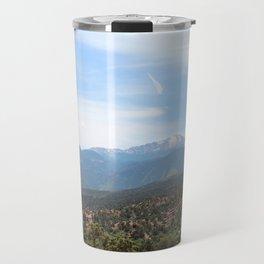 Spectacular View of Pike's Peak Travel Mug