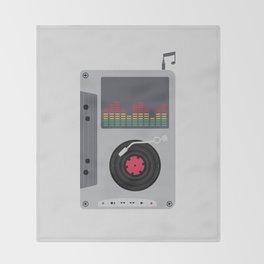 Music Mix Throw Blanket