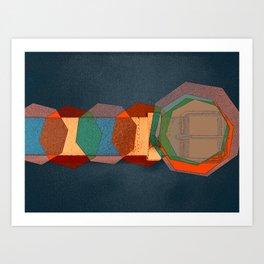 JETSON'S BELT 02 Art Print