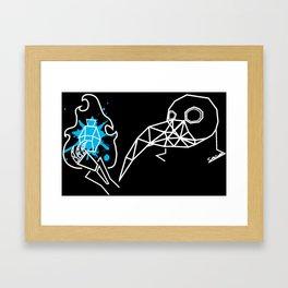 Plague Doctor pt.2 Framed Art Print