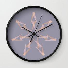 Pastel XMas Design I Wall Clock