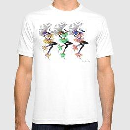MARDI GRAS GIRLS 3 T-shirt