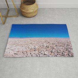 San Pedro de Atacama Salt Field, Chile Rug