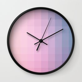 Lumen, Lilac and Blue Glow Wall Clock