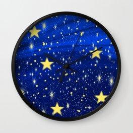 Starry, Starry Nights... Wall Clock