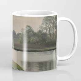 Hazy day on the Essex River Coffee Mug
