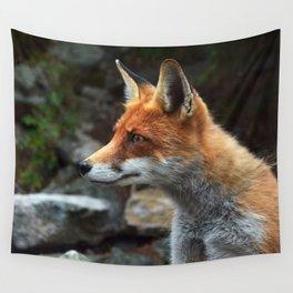Fox renard 4 Wall Tapestry