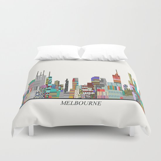 Melbourne by bribuckley
