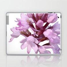 Pink Orchid Wildflower Laptop & iPad Skin