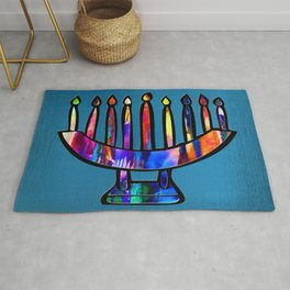 Happy Hanukkah! Rug
