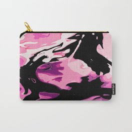 Black water and purple sand Carry-All Pouch