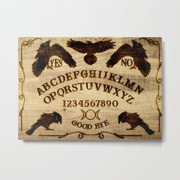 Raven Spirit Board Metal Print