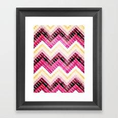 Triangles 2 Framed Art Print