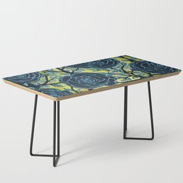 Black and Blue Coffee Table