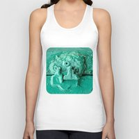 platypus Tank Tops featuring Platypus Face  by Ethna Gillespie
