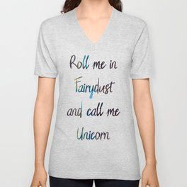 Fairydust Unicorn Unisex V-Neck
