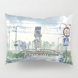 Level crossing in Radomsk Pillow Sham