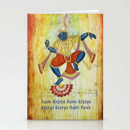 Divine series 2: Hare Krsna Stationery Cards