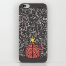 My Brain Won't Stop iPhone & iPod Skin