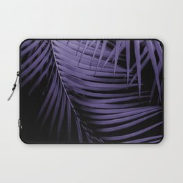 Palm Leaves Ultra Violet Vibes #1 #tropical #decor #art #society6 Laptop Sleeve