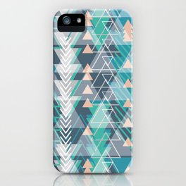 Triangle Tribe 1 iPhone Case