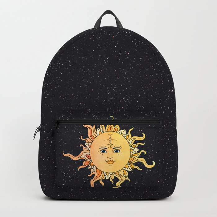 sun flower Backpack