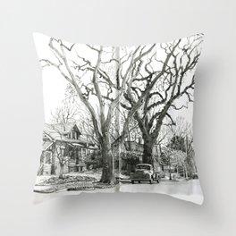 Park Hill Cottonwoods Throw Pillow