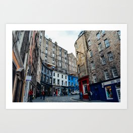 Old Town Edinburgh Kunstdrucke