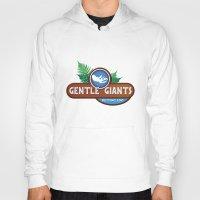 giants Hoodies featuring Gentle Giants by Paul Elder