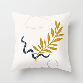 serpent Throw Pillow