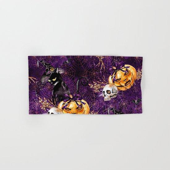 Halloween Witch #3 Hand & Bath Towel