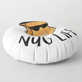 Nug Life - Distressed Design for Chicken Nugget Fans Floor Pillow