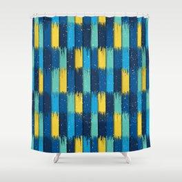 Modern Contrast 1 Shower Curtain