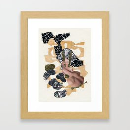 Larva Framed Art Print