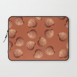 Orange big Clam pattern Illustration design Laptop Sleeve