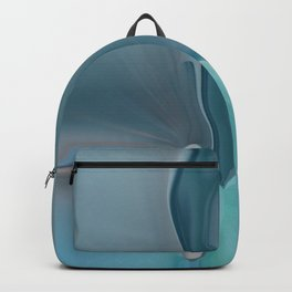 Melting Sea Glass Abstract Backpack