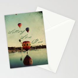 Letting Love Rise Stationery Cards