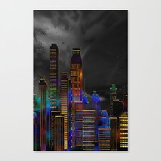 Pearlescent City Canvas Print