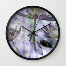 Spring at home Wall Clock