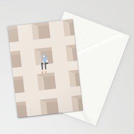 worry v.2 Stationery Cards