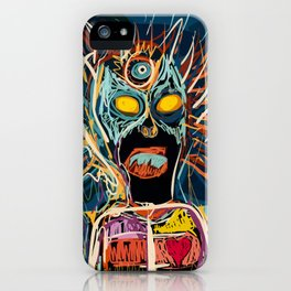 Keeping the mystery alive iPhone Case