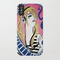 indie iPhone & iPod Cases featuring INDIE MONALIZA by Dulevartiano